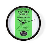 NYC Putnam Division Wall Clock