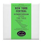 NYC Putnam Division Tile Coaster