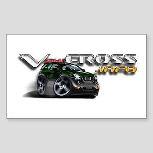 VX.info Rectangle Sticker / Dragon Green