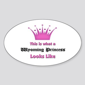 This is what a Wyoming Princess Looks Like Sticker