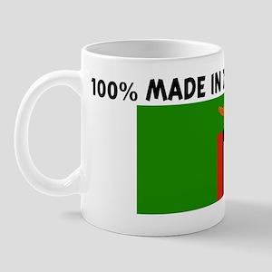 100 PERCENT MADE IN ZAMBIA Mug