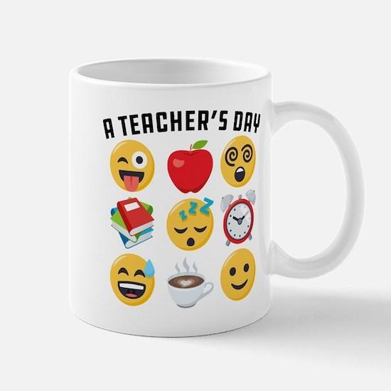 Emoji A Teacher's Day Mug
