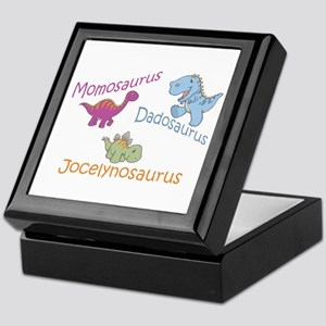 Mom, Dad & Jocelynosaurus Keepsake Box