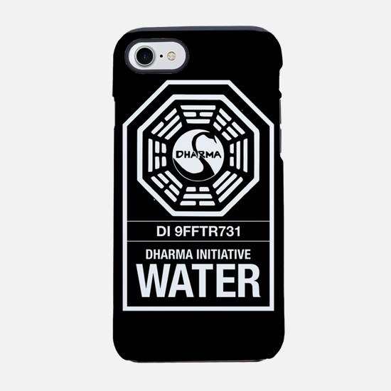 Lost Dharma Water iPhone 8/7 Tough Case