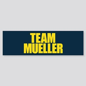 Team Mueller Sticker (Bumper)