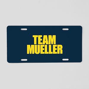 Team Mueller Aluminum License Plate