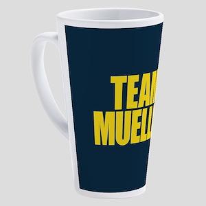 Team Mueller 17 oz Latte Mug