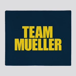 Team Mueller Throw Blanket
