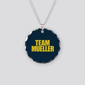 Team Mueller Necklace Circle Charm