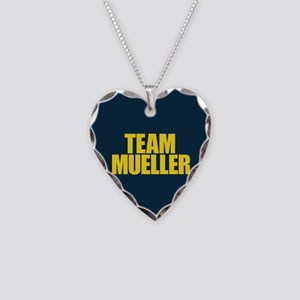 Team Mueller Necklace Heart Charm