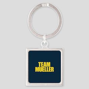 Team Mueller Square Keychain