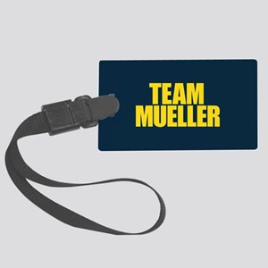 Team Mueller Large Luggage Tag