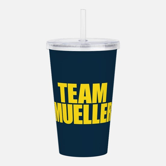 Team Mueller Acrylic Double-wall Tumbler