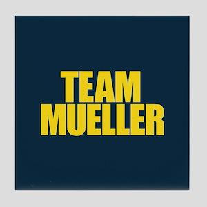 Team Mueller Tile Coaster