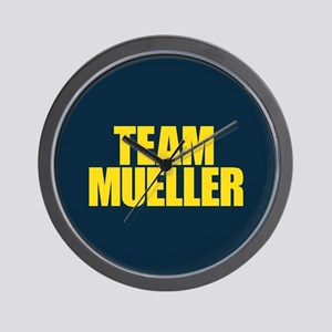 Team Mueller Wall Clock