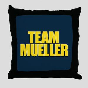 Team Mueller Throw Pillow