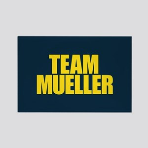 Team Mueller Rectangle Magnet