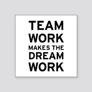 "Team Dream Square Sticker 3"" x 3"""