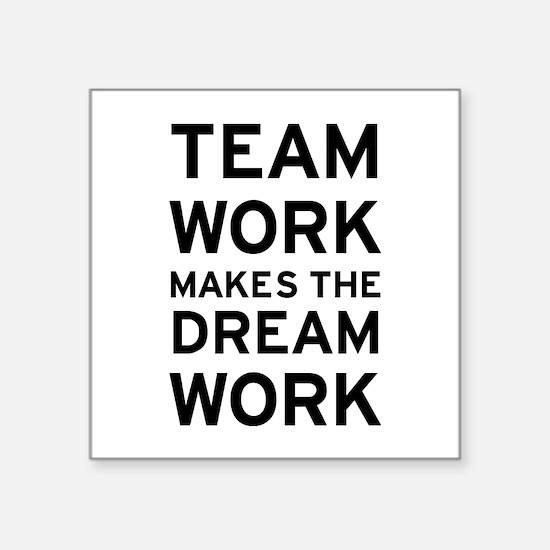 """Team Dream Square Sticker 3"""" x 3"""""""