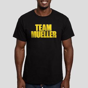 Team Mueller Men's Fitted T-Shirt (dark)