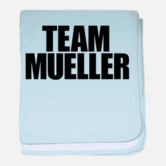 Team Mueller baby blanket