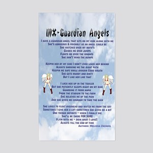 MX Guardian Angels Poem Rectangle Sticker
