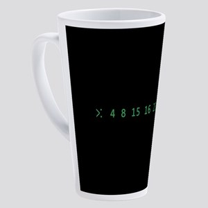 Lost Numbers 17 oz Latte Mug