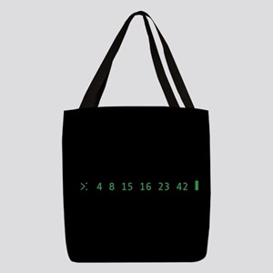 Lost Numbers Polyester Tote Bag