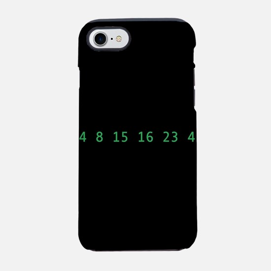 Lost Numbers iPhone 8/7 Tough Case