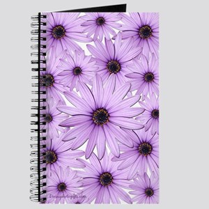 Beautiful Lavender Flower Journal