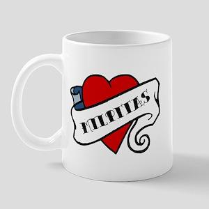 Milpitas tattoo heart Mug