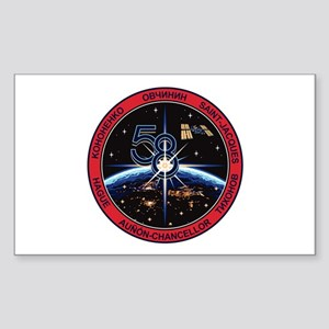 Expedition 58 Origial Crew Sticker (Rectangle)