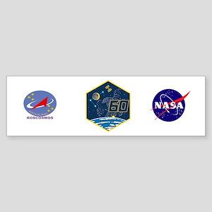 Expedition 60 Logo Sticker (Bumper)
