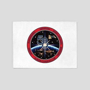 Expedition 58 Origial Crew 5'x7'area Rug