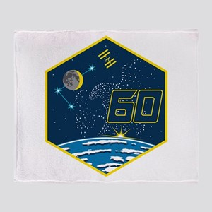 Expedition 60 Logo Throw Blanket