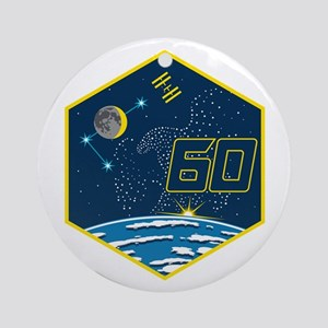 Expedition 60 Logo Round Ornament