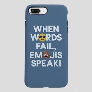 Emoji Words Fail Emojis iPhone 8/7 Plus Tough Case