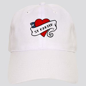 St Martin tattoo heart Cap