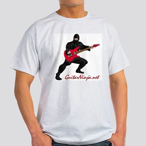 Guitar Ninja Ash Grey T-Shirt
