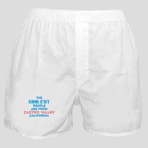 Coolest: Castro Valley, CA Boxer Shorts