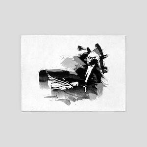 Piano Genius 5'x7'Area Rug