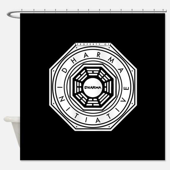 Lost Property Dharma Initiative Shower Curtain