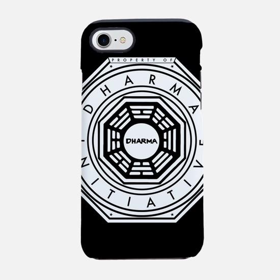 Lost Property Dharma Initiat iPhone 8/7 Tough Case