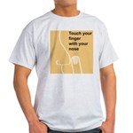 Touch Your Finger with Your N Light T-Shirt
