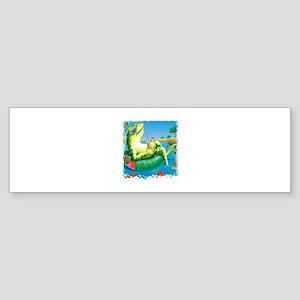 frog vacation Bumper Sticker