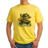 German ww2 Mens Classic Yellow T-Shirts