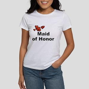 Hearts Maid of Honor Women's T-Shirt