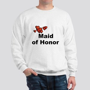 Hearts Maid of Honor Sweatshirt