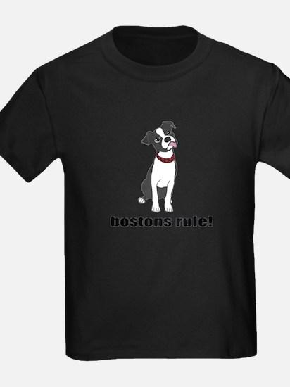 Boston Terriers Rule! T-Shirt