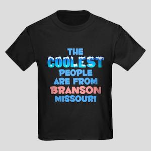 Coolest: Branson, MO Kids Dark T-Shirt